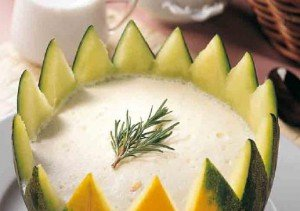 corona de melon